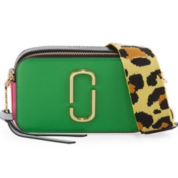 a04c50513 Marc Jacobs Snapshot Bag with Leopard Strap. M_5bafb1851b3294eb638f9402